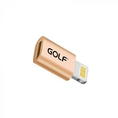 Переходник Micro to Lightning GOLF GC-31